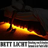Emotionlite-LED-Bettlicht-mit-Bewegungssensor-und-Dmmerungssensor-Bewegungsaktiviert-Nachtlicht-Automatisches-Abschalten-Flexibler-Streifen-Dekor-Lichtsatz-1600K-Ultra-Warmesweisses-Weiches-Glhen-Unte