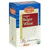 Arrowhead Mills Organic Hot Cereal, Bulgur Wheat, 24-Ounce Boxes (Pack of 4)