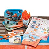 Disney Planes Party Supply Kit - Place Setting Pack for 8 Guests