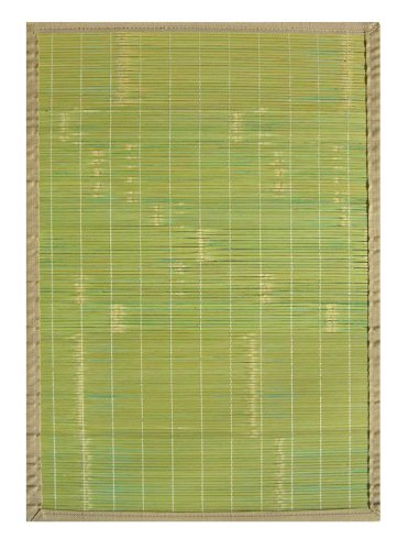 Anji Mountain Bamboo Chairmat & Rug Co. 4-Foot-by-6-Foot Bamboo Rug, Key West