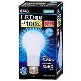 06-3086 LDA13N-G AG5 LED電球 密閉形器具対応・広配光タイプ 13.0W/1580lm 100W相当E26 昼白色