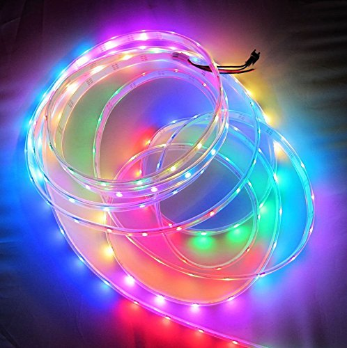 Greatlight 4M 240Led Rgb Multicolor Programmable Ws2811 Rgb Dream Color 5050 Led Strip Individually Addressable Ip68 Waterproof