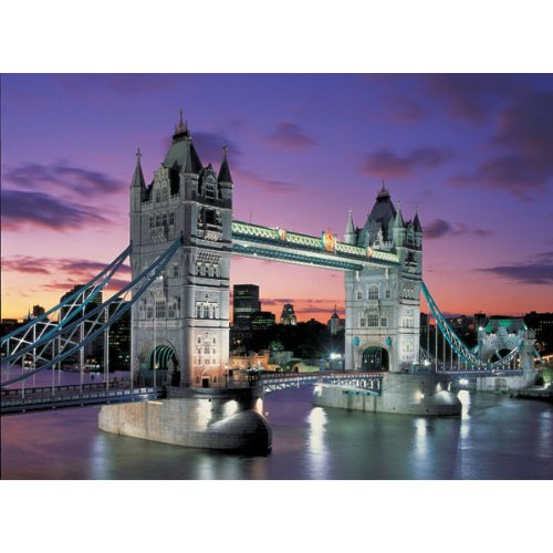 Cheap John N Hansen Tower Bridge, London Neon (1000 pc puzzle) (B00000ITCB)