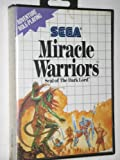 Miracle Warriors Seal of the Dark Lord - Sega Master System