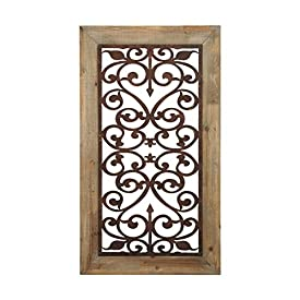 Wood Gate Wall Decor