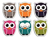 Kikkerland Owl Magnet, Set of 6