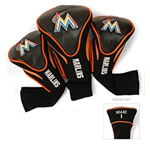 MLB Florida Marlins Contour Head Cover (Pack of 3), Orange by Team Golf