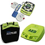 Zoll 21400010101011010 AED Plus Package with Defibrillator Batteries and Pad