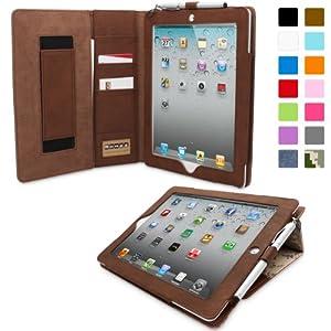 Snugg™ iPad 2 Case - Executive Smart Cover With Card Slots & Lifetime Guarantee (Camo Leather) for Apple iPad 2