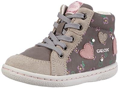 Geox Baby B FLICK GIRL E First Walking Shoes Gray Grau