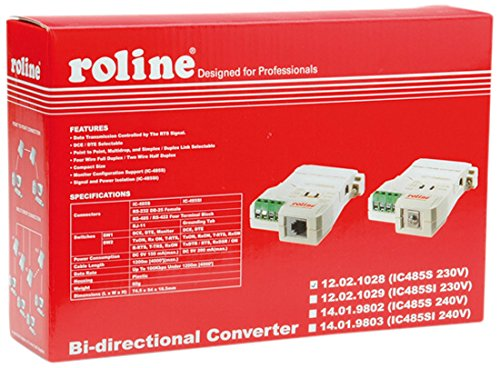 ROLINE Converter RS232-RS485, without Galvanic Isolation