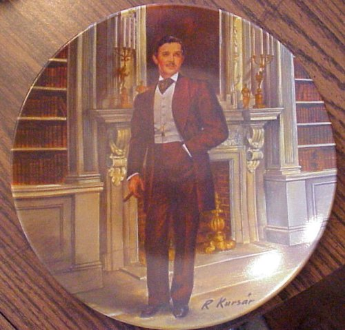Rhett Butler commemorative plate