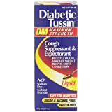 Diabetic Tussin Maximum Strength Cough Syrup, 8 Fluid Ounce