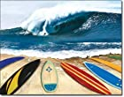 Surfing Wait Your Turn Tin Sign