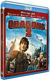 Dragons 2 - Combo Blu-ray3D + Blu-ray+ DVD + Copie digitale