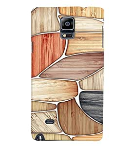 Fuson Premium Rock Pattern Printed Hard Plastic Back Case Cover for Samsung Galaxy Note 4 N9100
