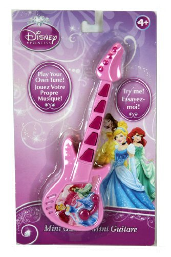 Disney Princess Mini Guitar Plays Multiple Tunes - 1
