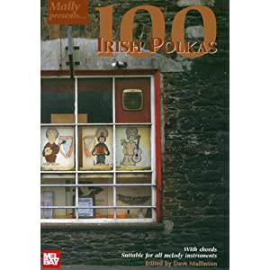 100 Irish Polkas (Mally Presents) Dave Mallinson