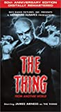 The Thing From Another World [VHS]