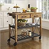 Crosley Roots Rack Industrial Kitchen Cart