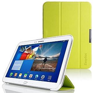 EasyAcc Ultra Slim Samsung Galaxy Tab S 10.5 Hülle Case Tasche PU Leder Schutzhülle für Samsung Galaxy Tab S 10.5 Smart Cover mit Auto Sleep Wake up / Standfunktion (Schwarz, Grün, Ultra dünn)
