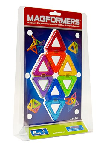 Magformers Triangles Eight Piece Set front-888845