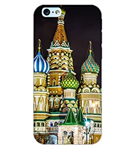 PrintDhaba RELIGIOUS D-6113 Back Case Cover for APPLE IPHONE 6S (Multi-Coloured)