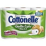 Cottonelle Toilet Paper with Aloe & Vitamin E 6 ea