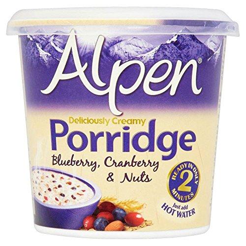 Alpen Porridge Pots Cranberry, Blueberry & Nuts (60G)