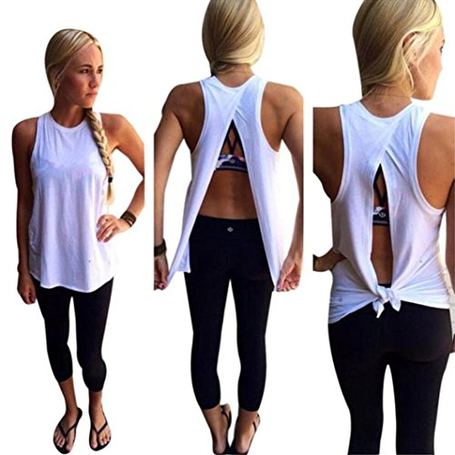 buy Franterd Women Summer Blouse Vest Sleeveless Casual T-Shirt Tank Tops for sale