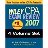 Wiley CPA Exam Review 2007 4-volume Set ~ O. Ray Whittington