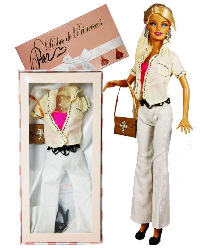 """Vestito da principessa """"NINA"""" per Bambole Barbie, Disney ed altri personaggi."""
