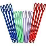 Generic colorful plastic sewing needles 16Picks