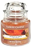 Yankee Candle Small Jar Candle, Honey and Spice