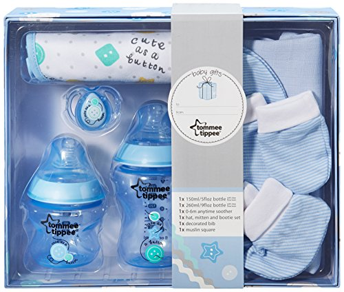 Tommee Tippee Closer To Nature Gift Pack (Blue) - 1