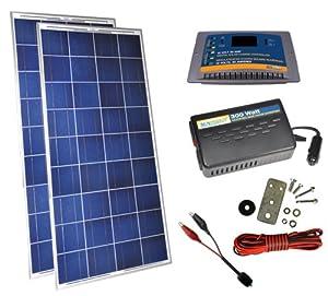 Sunforce 35528 '300 Watt' Solar Kit