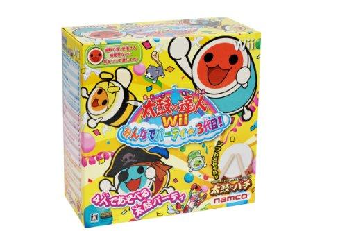 太鼓の達人Wii みんなでパーティ☆3代目!(同梱版)
