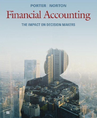 Financial Accounting: The Impact on Decision Makers [Loose Leaf]