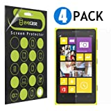 Evecase Screen Protector Variety Pack with 2x Clear and 2x Matte Anti-Glare Film for Nokia Lumia 1020 - 4 Pack (AT&T Version Compatible)