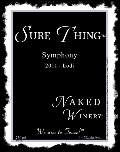 2011 Naked Winery Sure Thing Symphony 750 Ml