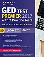 GED Test Premier 2017 with 2 Practice Tests: Online   Book   Videos   Mobile