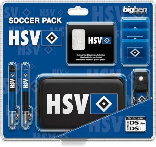 Nintendo DS Lite DSi - Zubehör Set Soccer-Pack Hamburger SV