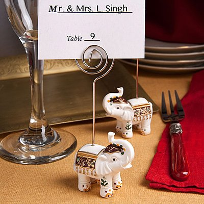 Good Luck Elephant Place Card Holders, 100