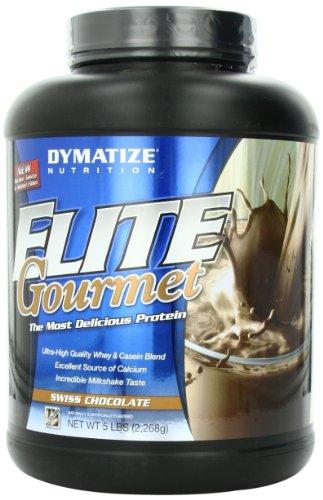 Dymatize Elite Gourmet Swiss Chocolate, 5 Pound
