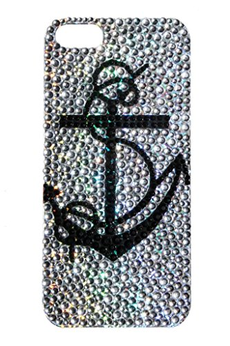 lux-accessories-iphone-5-5s-black-anchor-clear-rhinestone-cell-phone-sticker-case