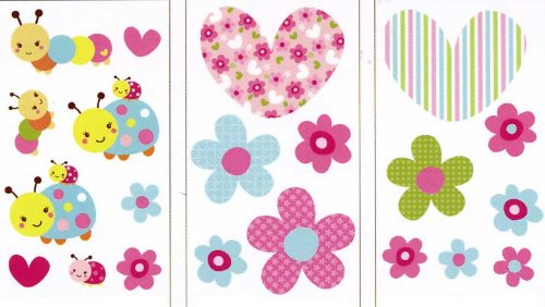 Taggies Wall Decals, Sweet As A Bug front-775380