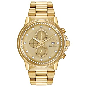 Citizen Women's FB3002-53P Nighthawk Analog Display Japanese Quartz Gold Watch