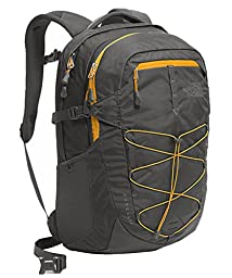 The North Face Borealis Backpack Asphalt Grey/Citrine Yellow Size One Size