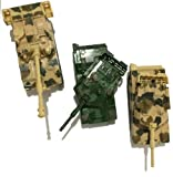 Die Cast Metal Military Pull Back Tanks - Set of 3