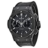Hublot Classic Fusion Chronograph Automatic Black Dial Black Rubber Mens Watch 521CM1770LR (Color: Black)